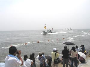 野島祭(船団パレード)